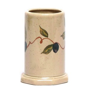 Tuscan Olive Toothbrush Holder
