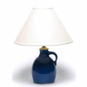 American Blue Jug Lamp