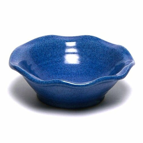 American Blue Little Frilly Bowl