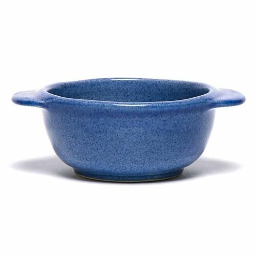 American Blue Onion Soup Crock