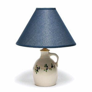 Blueberry Jug Lamp