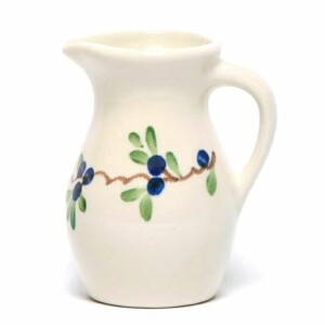 Blueberry Posie Pitcher