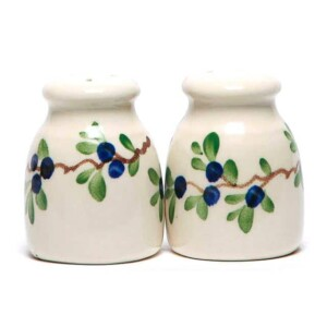 Blueberry Salt and Pepper Shaker Set