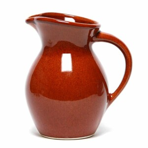Copper Clay Iced Tea Pitcher