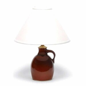 Copper Clay Jug Lamp