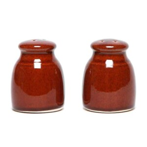 Copper Clay Salt and Pepper Shaker Set