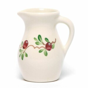 Cranberry Posie Pitcher
