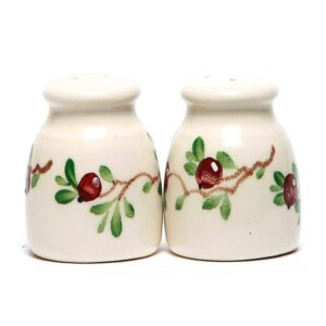 Cranberry Salt and Pepper Shaker Set