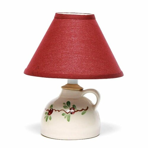 Cranberry Small Lamp