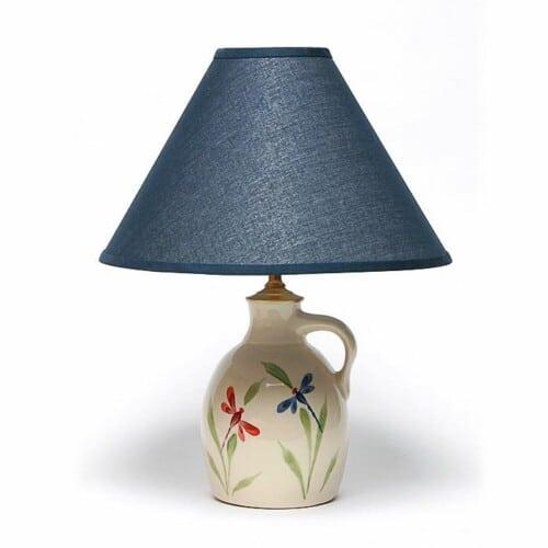 Dragonfly Jug Lamp