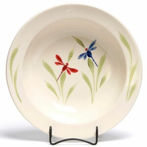 Dragonfly Large Serving Bowl