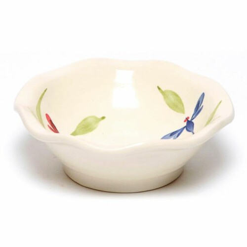 Dragonfly Little Frilly Bowl