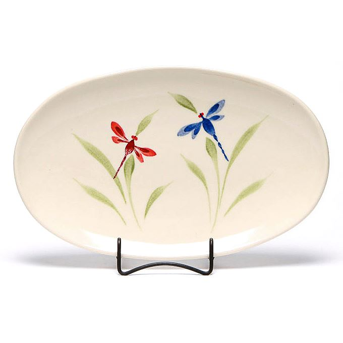 Dragonfly Oval Platter
