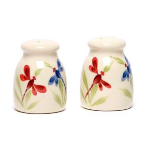 Dragonfly Salt and Pepper Shaker Set