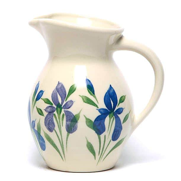 Field of Iris Iced Tea Pitcher