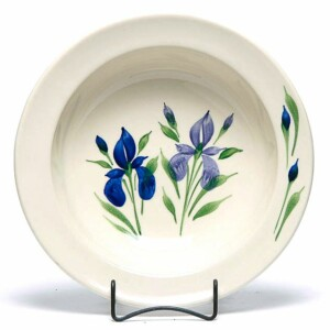Field of Iris Large Serving Bowl