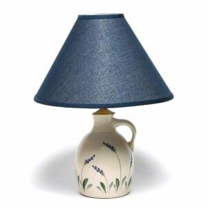 Lavender Jug Lamp