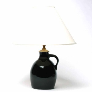 Onyx Black Jug Lamp