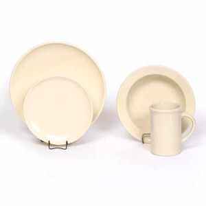 Pearl Coupe Dinner Plate Set for One