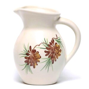 Pinecone Iced Tea Pitcher