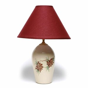 Pinecone Large Lamp