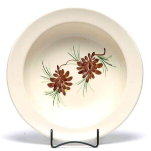 Pinecone Large Serving Bowl