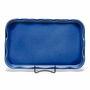 American Blue Large Frilly Tray