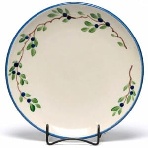 Blueberry Coupe Dinner Plate
