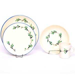 Blueberry Craftline Dinner Plate Set for One
