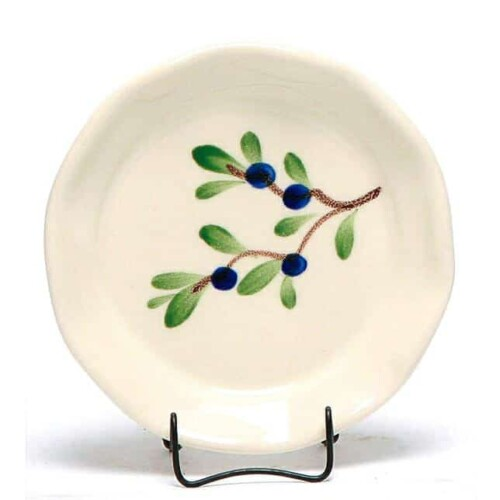 Blueberry Oil Dipping Dish/Coaster