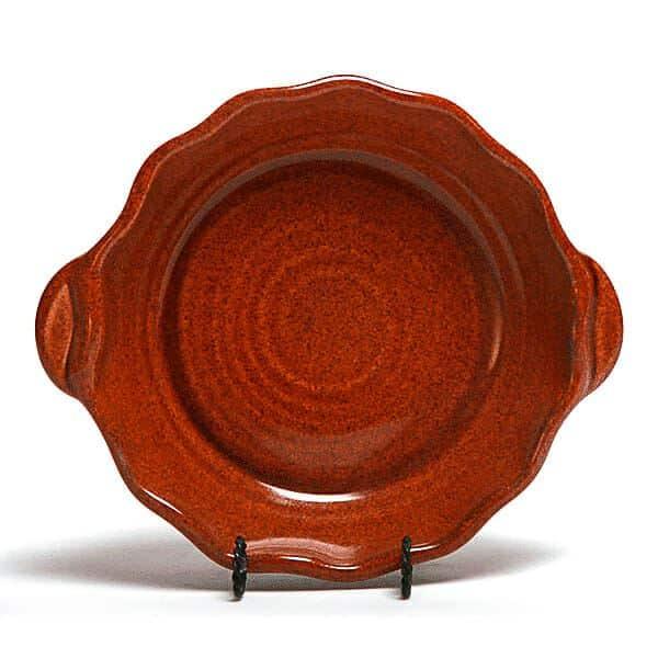 Copper Clay Small Casserole Dish