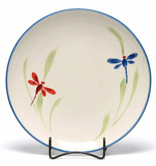 Dragonfly Coupe Dinner Plate