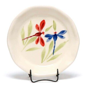 Dragonfly Oil Dipping Dish/Coaster