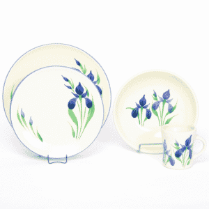 Field of Iris Craftline Dinner Plate Set for One