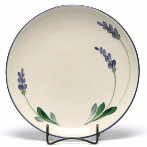 Lavender Coupe Dinner Plate
