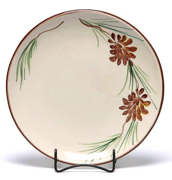Pinecone Coupe Dinner Plate