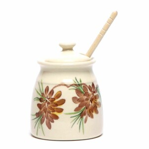 Pinecone Honey Pot