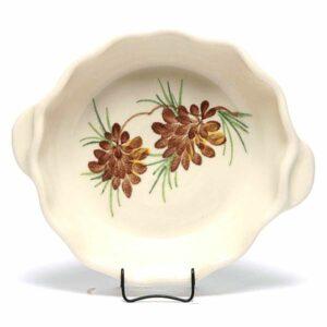 Pinecone Small Casserole Dish