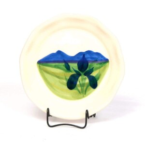 Summer Peaks Oil Dipping Dish/Coaster