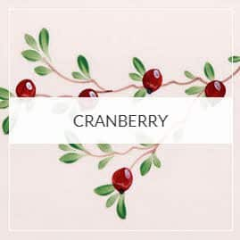 Cranberry Pottery Collection