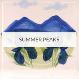 Summer Peaks Pottery Collection