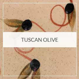 Tuscan Olive Pottery Collection