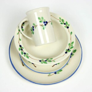 Coupe Dinnerware Sets for One
